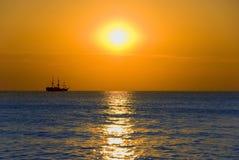 Ship At Sea Royalty Free Stock Photography