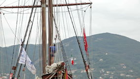 Ship Atyla at Lycamobile Mediterranean Tall Ships  Stock Image
