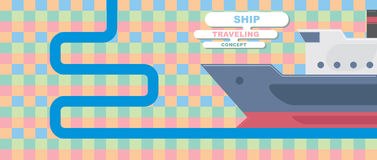 Ship background Royalty Free Stock Photography