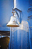 Ship bell made of brass Royalty Free Stock Photography