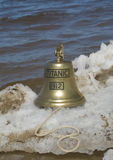 Ship bell of Titanic ship Stock Photography
