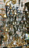 Ship bells shop Royalty Free Stock Photography