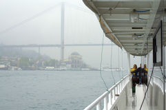 Ship board Istanbul sight Stock Photography