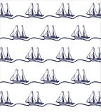 Ship boat pattern Stock Photography