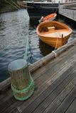 Ship and boats. Ridged alongside the jetty Royalty Free Stock Photography
