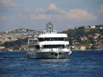 Ship in the Bosphorus, Turkey. Stock Image