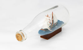 Ship in bottle Royalty Free Stock Photography