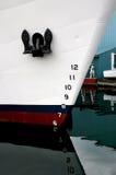 Ship bow and anchor Royalty Free Stock Image