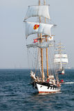 Ship Brabander in Baltic Sea Stock Image