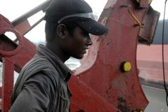 Ship breaking in Bangladesh Royalty Free Stock Photography
