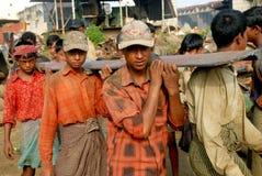 Free Ship Breaking In Bangladesh Royalty Free Stock Photography - 78887397