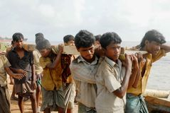 Free Ship Breaking In Bangladesh Stock Photo - 78887590