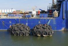Ship buffers Stock Photos