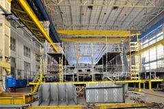 Ship building shoot Stock Photo