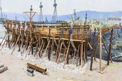 Ship Building Royalty Free Stock Photo