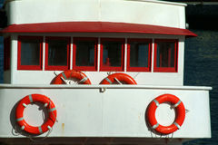 Ship cabin. Of a old boat Royalty Free Stock Photos