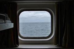 Ship window Royalty Free Stock Photo
