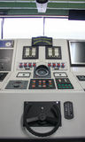 Ship captain control room Stock Images