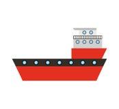 Ship cargo delivery service Royalty Free Stock Photos
