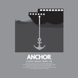 Ship Cast Anchor Stock Photography