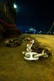 Ship chain Stock Photo