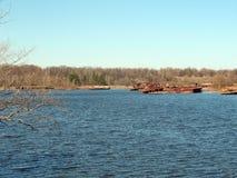 Ship at Chernobyl Royalty Free Stock Photo