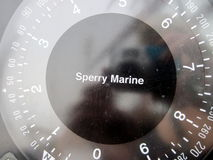 Ship compass Stock Image