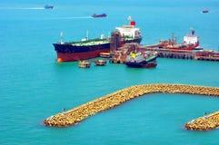 Ship construction Royalty Free Stock Image