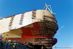 Ship construction Royalty Free Stock Photos
