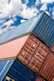 Ship container Stock Photo