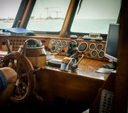 Ship control bridge Royalty Free Stock Photography