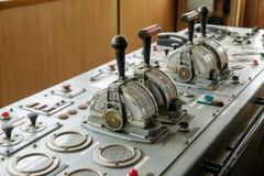 Ship control bridge Stock Image