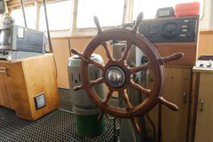 Ship control bridge Royalty Free Stock Photos