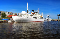 Ship Cosmonaut Viktor Patsayev in Kaliningrad Stock Photography