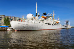 Ship Cosmonaut Viktor Patsayev in Kaliningrad Stock Photo