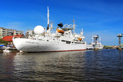 Ship Cosmonaut Viktor Patsayev in Kaliningrad Royalty Free Stock Photos