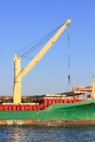 Ship Crane Royalty Free Stock Photo