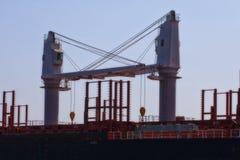 Ship cranes Royalty Free Stock Image
