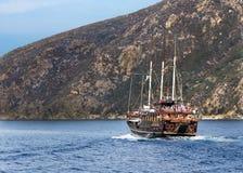 Free Ship Cruise Around Mount Athos - Greece Stock Photo - 86601890