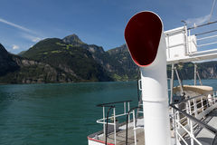 Ship Cruise on Lake Lucerne Royalty Free Stock Photography