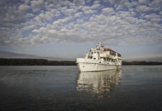 Ship on Danube Stock Photo
