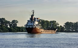 Ship on the Danube Stock Images