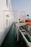 Ship deck Stock Photo