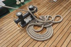 Ship deck Royalty Free Stock Image
