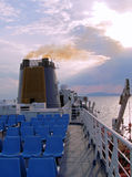 Ship deck Royalty Free Stock Photography