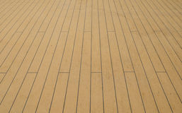 Ship Deck used for background Royalty Free Stock Photo