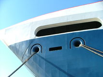 Ship detail. Ship in the harbor Royalty Free Stock Images