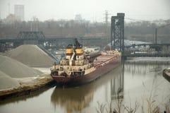 Ship at dock  Royalty Free Stock Images