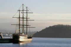 Ship at Dock Royalty Free Stock Photo