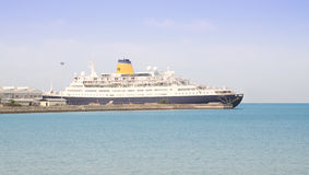 Ship docked Stock Photos